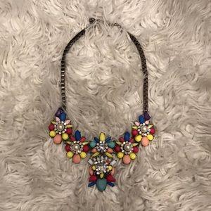 Pastel statement necklace
